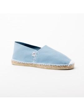 ACAMAR – Espadrille bleu ciel, fil blanc