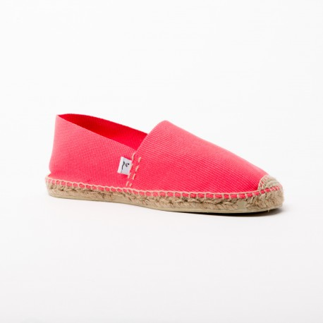 Alcor – Espadrille fluo rose