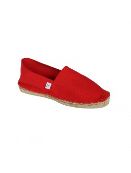 MATAR - Espadrille rouge - fabrication artiisanale france
