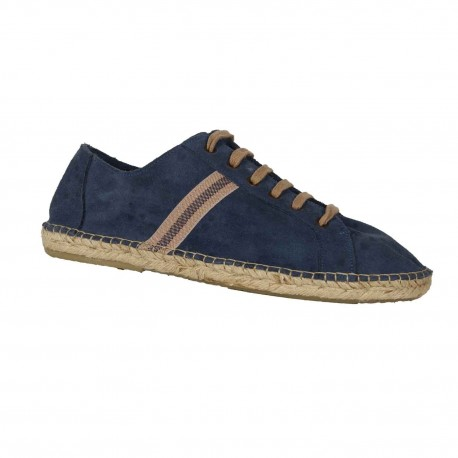Embata – Espadrille type tennis couleur marine